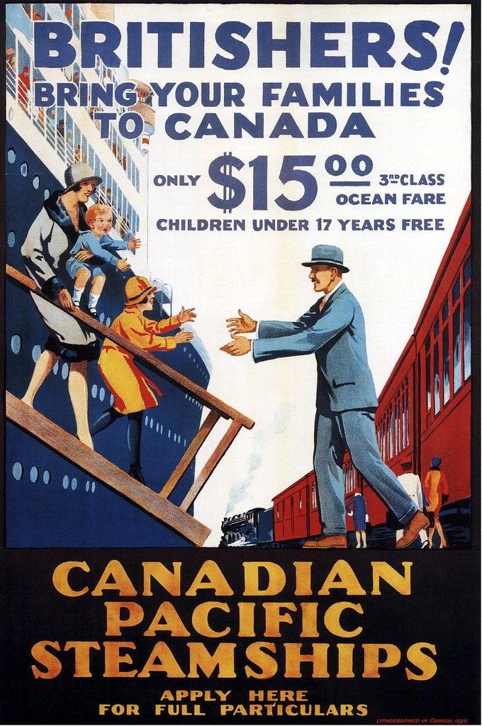 Canadian Pacific ad 1929  kitchenerlord  Flickr