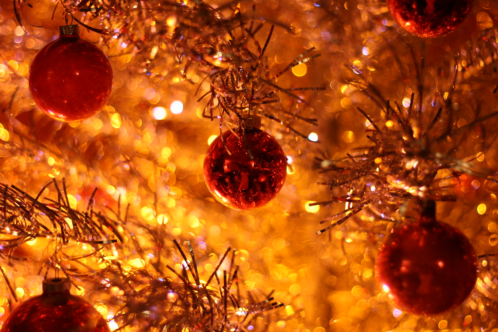 Christmas Ornaments orange and red  Dominick Guzzo  Flickr