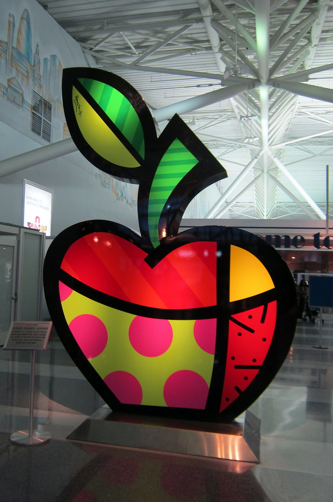 NYC JFK Airport  Terminal 8  Big apple  Big Apple a