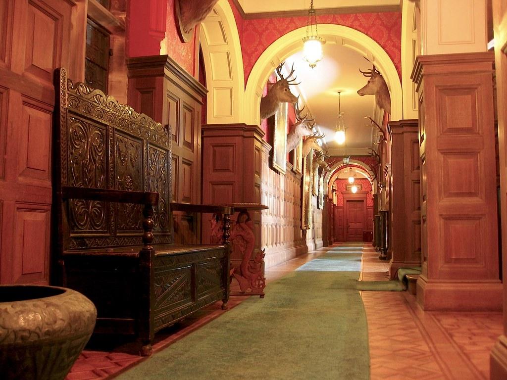 Kinloch Castle Corridor  Interior Corridor of Kinloch Castl  Flickr
