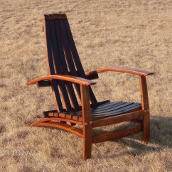 Wine Adirondack Chair Hi Boy Beach With Canopy Napa Valley Barrel