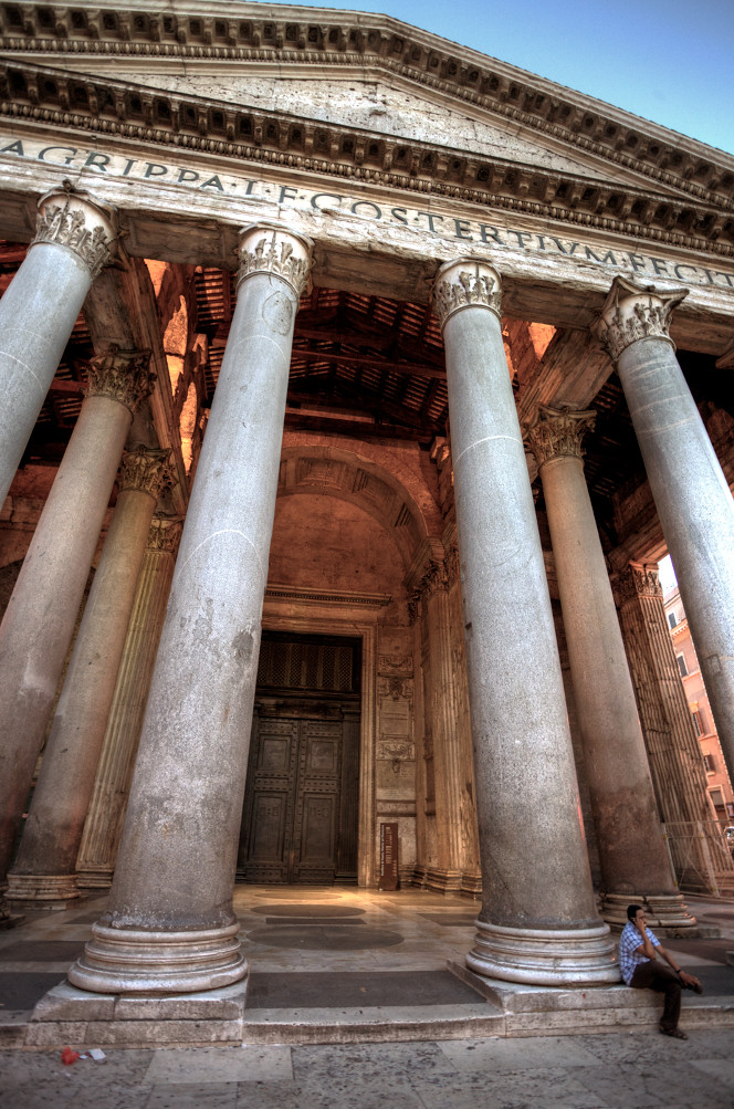Pantheon Rome Build In 126 Ad Highest Position On Explor