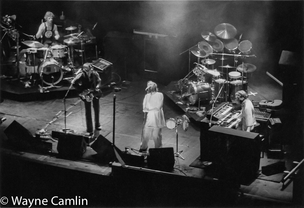 Genesis  Bill Bruford Mike Rutherford Phil Collins Ton
