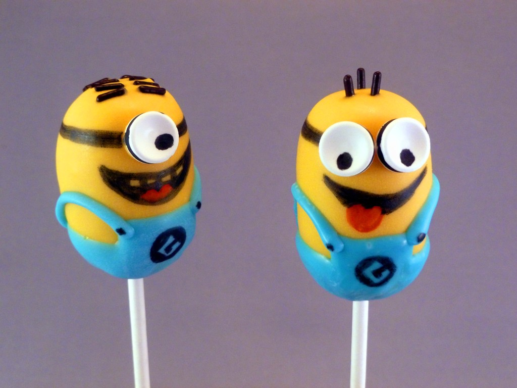 Despicable Me Minion Cake Pops These Little Mischievious