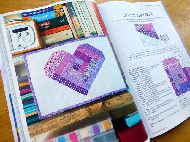 Popular Patchwork Sketchbook Mini (Log Cabin Love)