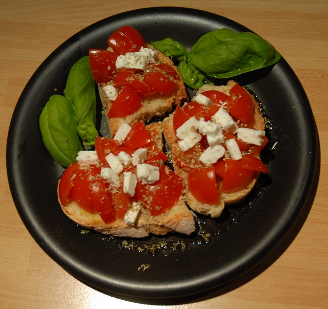 Enjoy delicious Cretan dakos from the luxury of your Greek villa