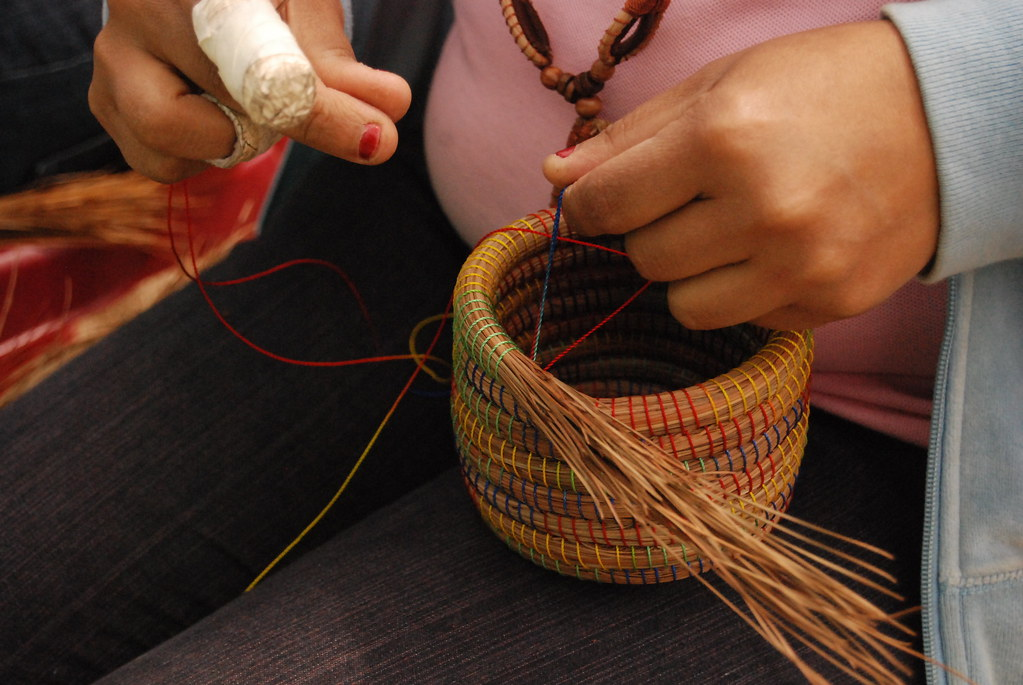 FMSC MarketPlace Pine Needle Basket For The Story Of