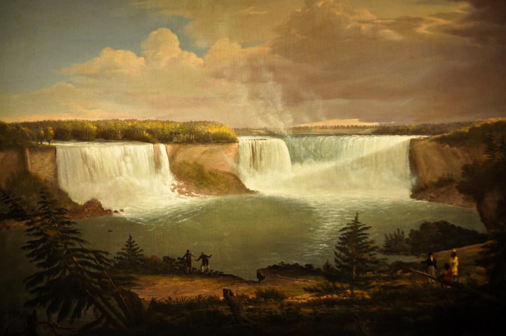 Niagara Falls painting at American Art Museum Washington D