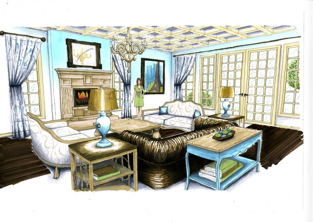Living Room Rendering  albarton925  Flickr