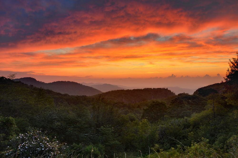 Graveyard Fields Sunrise  Blue Ridge Parkway NC  Flickr