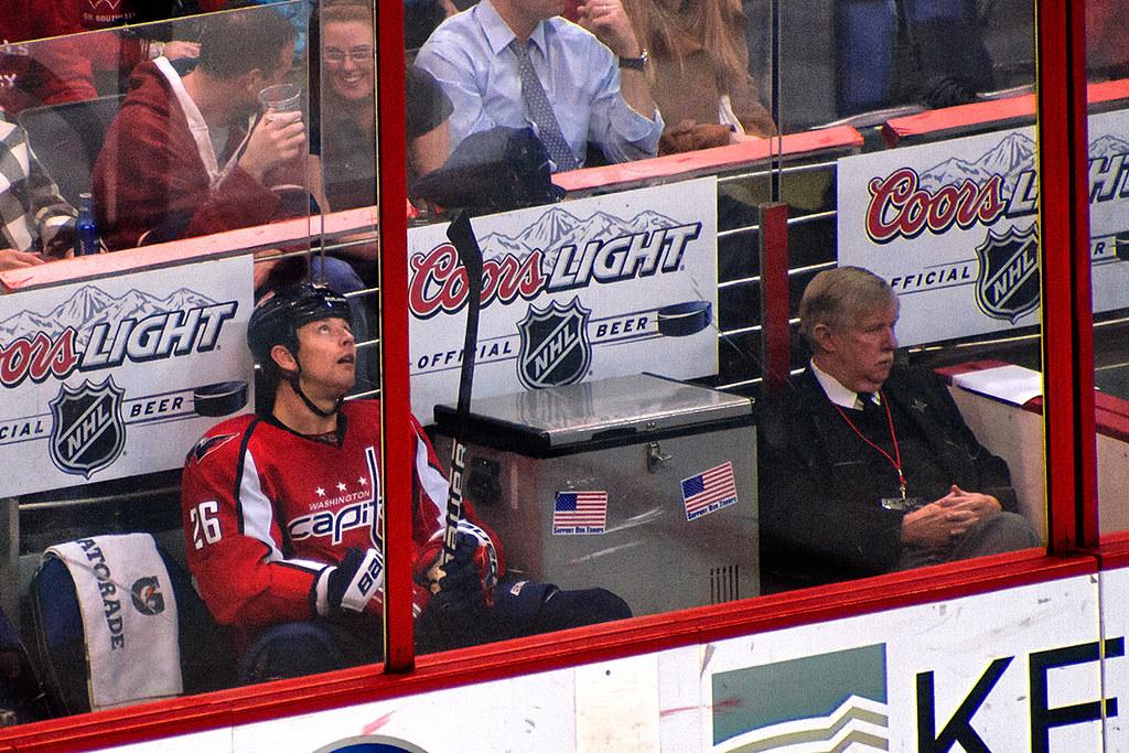 Hendricks Looks Up From Penalty Box WASHINGTON DC