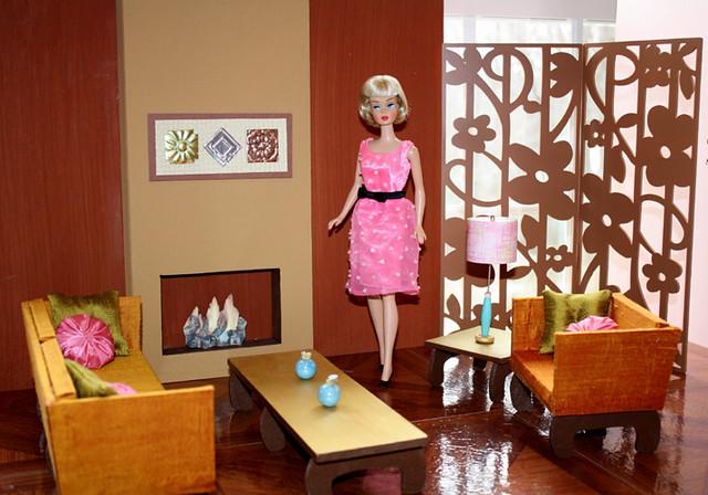 Vintage Barbie living   Flickr  Photo Sharing