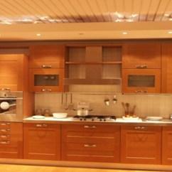 Kitchen Cabinets White Dining Chair Pads Cocina De Madera Moderna   Con Un Acabado ...