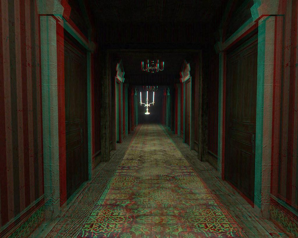 Garrys ModDisney World Haunted Mansion Hallway 3D Anagly