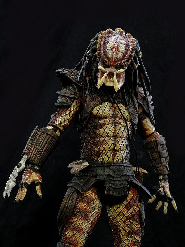 Wallpaper Predator 3d Neca City Hunter Predator 2 Repainted Version Of The