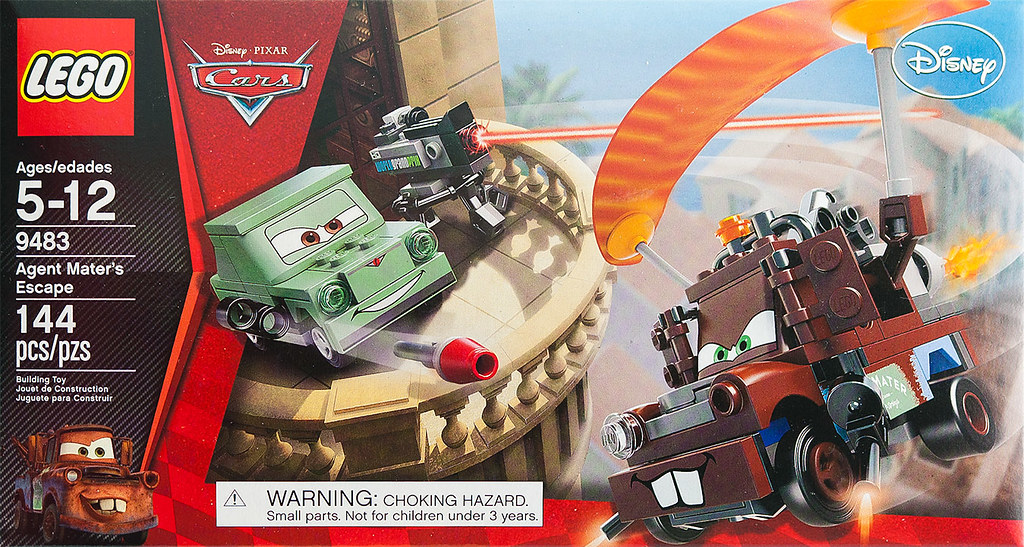 Lego Cars 2 Agent Mater Box Cover  Lego Set 9483 Agent Mate  Flickr