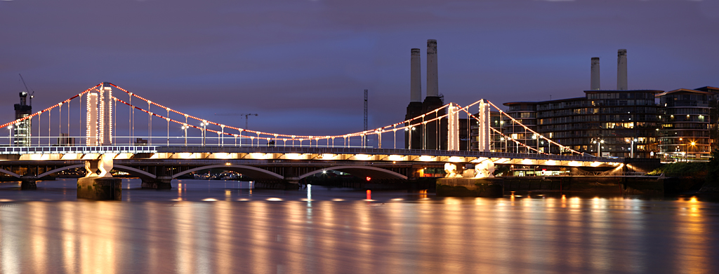 Chelsea Bridge London Original Size 9796 X 3739 Pixel