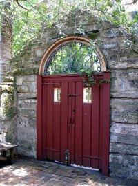 St. Augustine - Dow Museum of Historic Houses - Red Doors ...