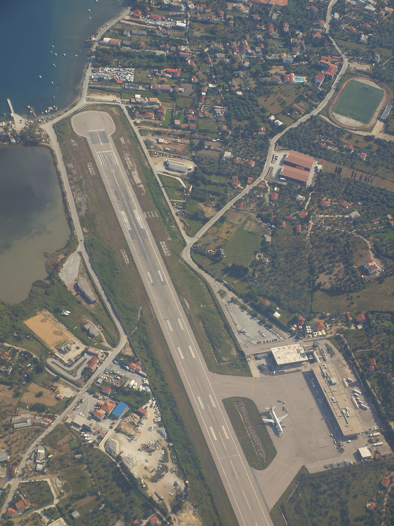 Skiathos airport  Left turn after departure from RWY20 dire  Flickr