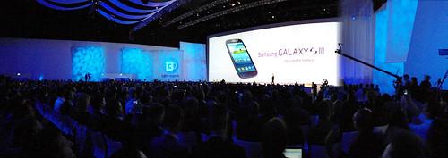 Lanzamiento del Samsung Galaxy S3