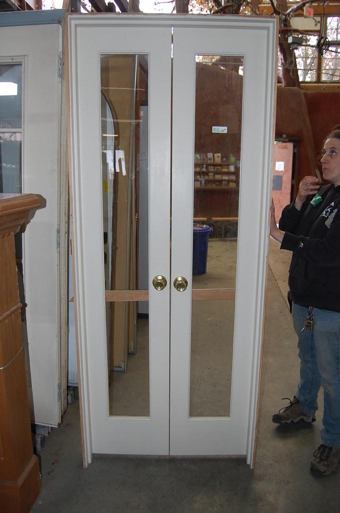 Vintage 4ft Divided Light French Door Set 150