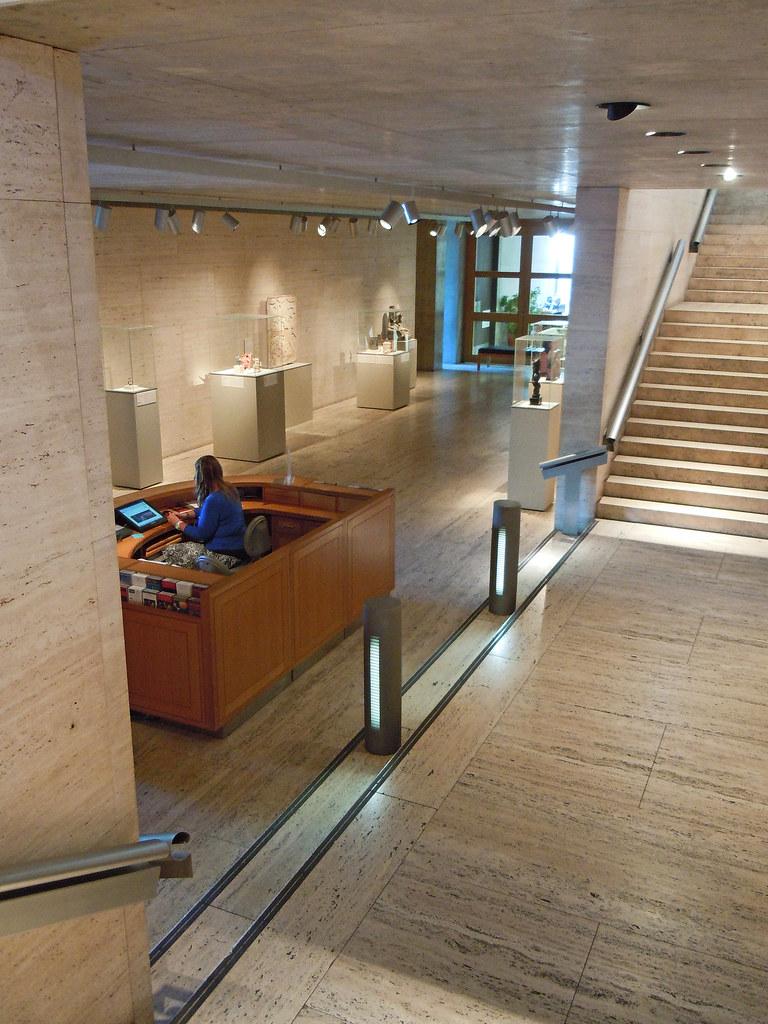 Kimbell Art Museum  An interior view of Louis I Kahns