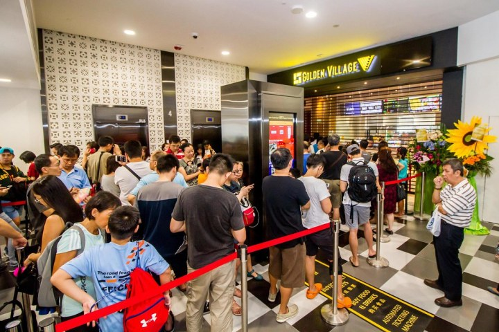 The early birds among the GV Movie Club members grabbed their tickets for $2 at the Tiong Bahru Open House on May 25, forming a queue as early as 7.30 am. All tickets were sold out within four hours.