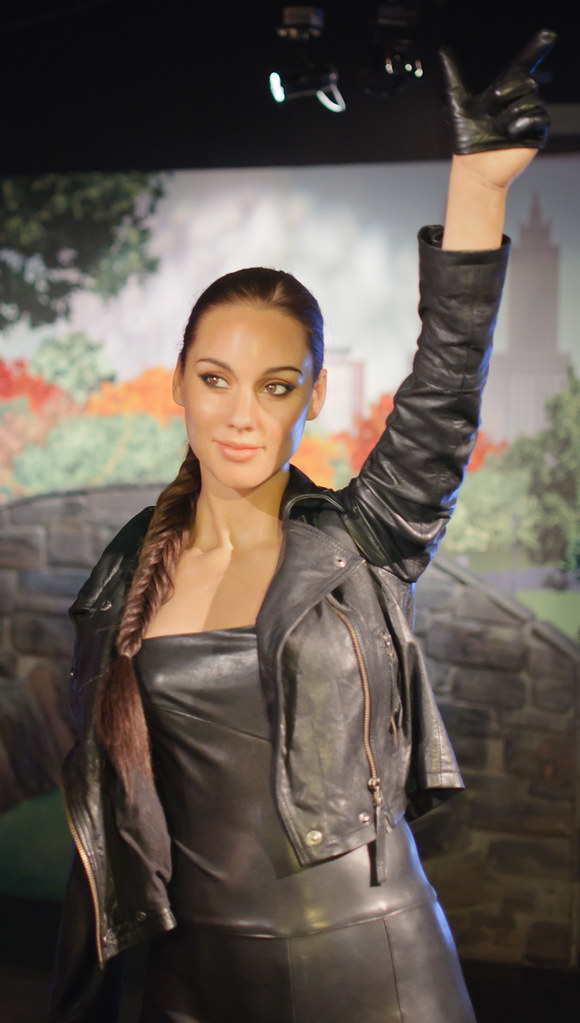Alicia Keys at Madame Tussauds New York  A lovely