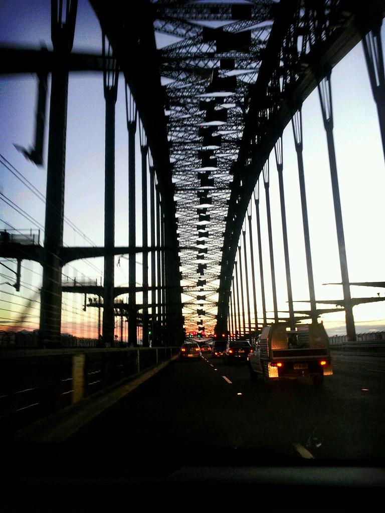 The Coat Hanger The Sydney Harbour Bridge 630am A