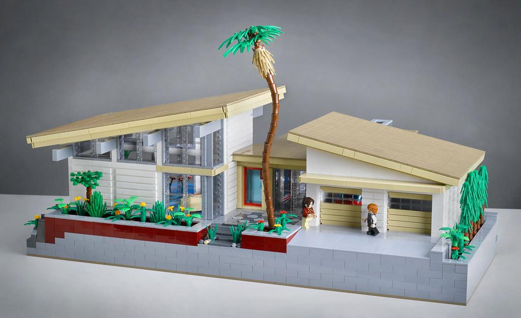 Villa Hillcrest  Front View  Entry for LEGO Modern Home De  Flickr