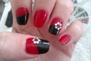 simple diy nail art design easy