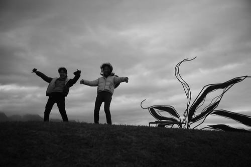 一張吹風照片給林世仁老師的靈感