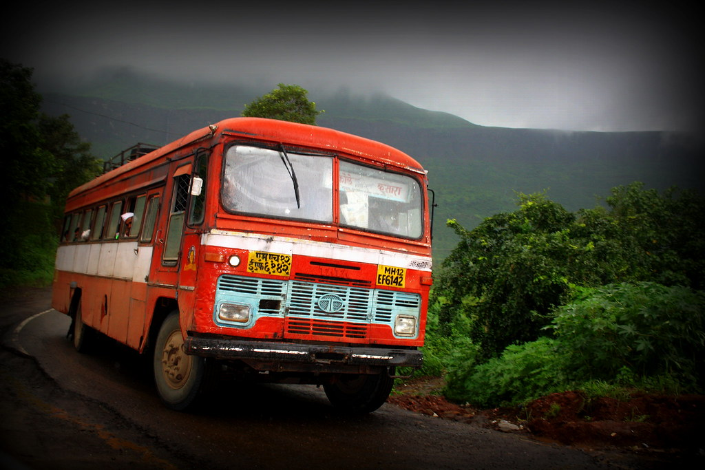 Maharashtra State Road Transport Corporation  The red MSRTC  Flickr