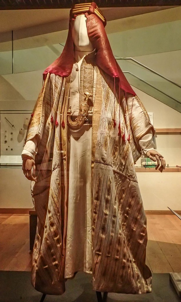 The real Bedouin robes presented to TE Lawrence aka Lawr