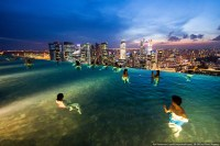 Swimming pool, Marina Bay Sands | Ilya Varlamov | Flickr