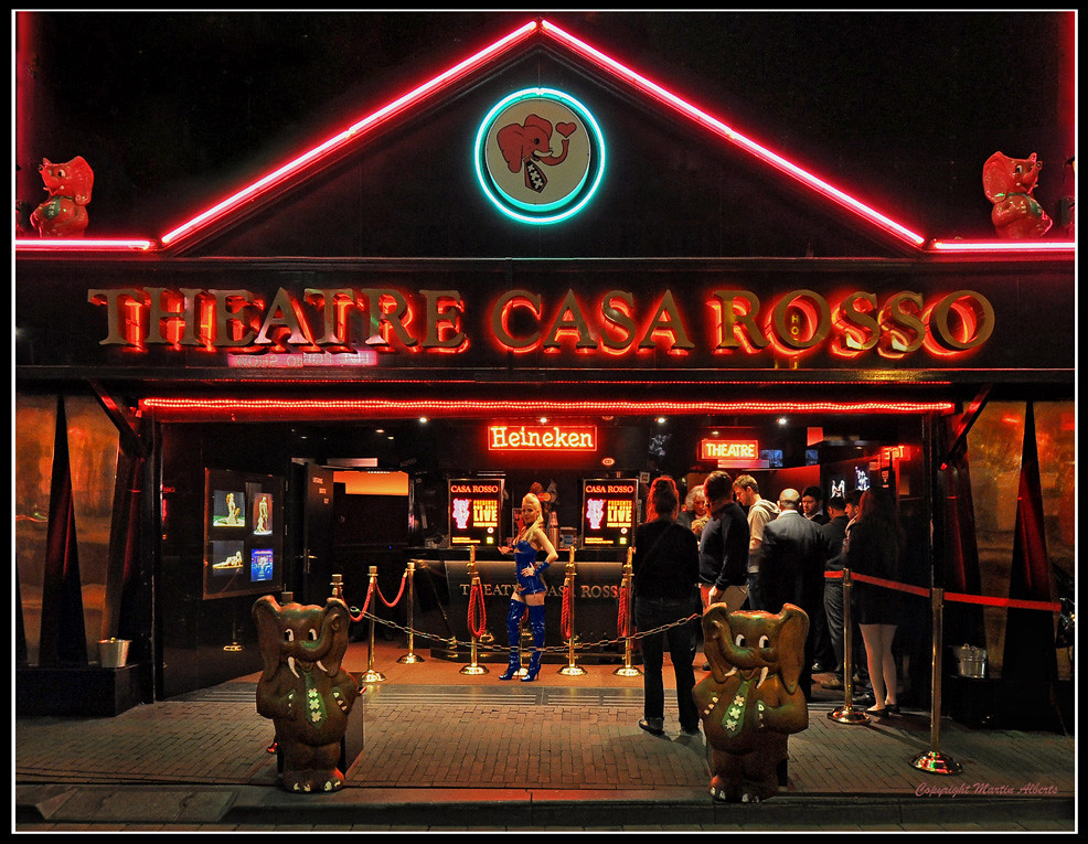 Anything goes on in Casa Rosso  The fantastic Casa