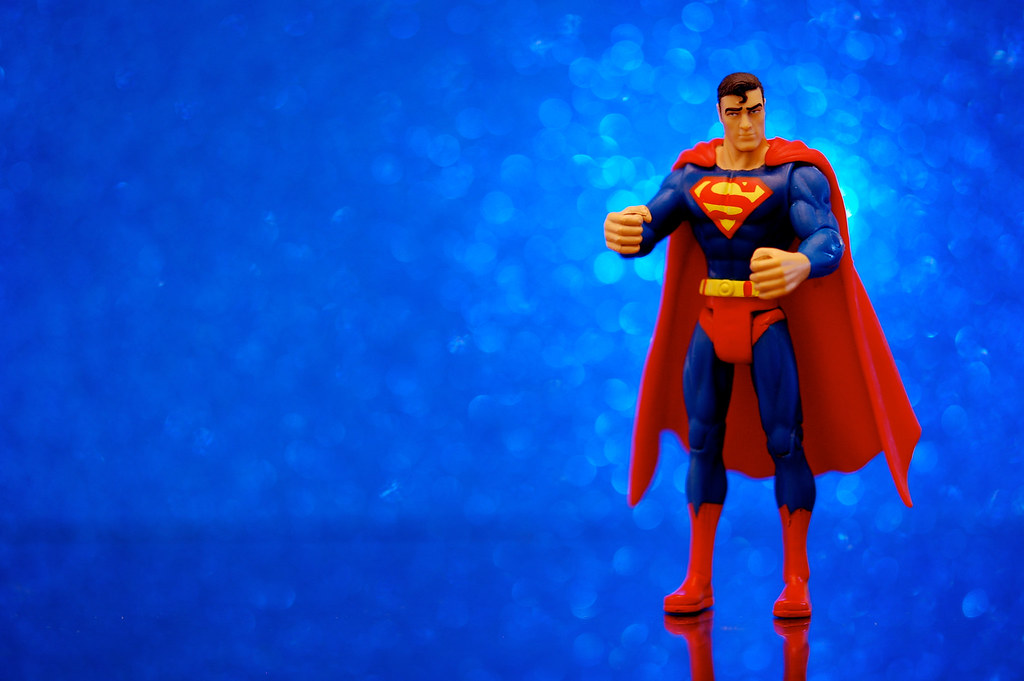 3d Birthday Wallpaper Infinite Superman A 3 3 4 Inch Superman Figure From The