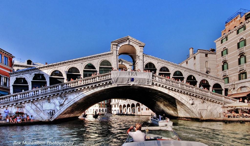 famous italian bridges  rialto and ponte vecchio in venice   Flickr