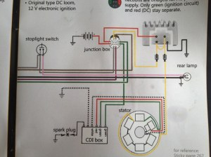 Lambretta wiring diagram with 12v upgrade | Skywalker5446