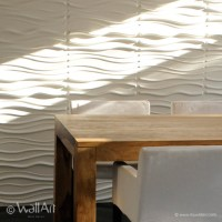 3d wall covering create beautiful shadows and light effect ...