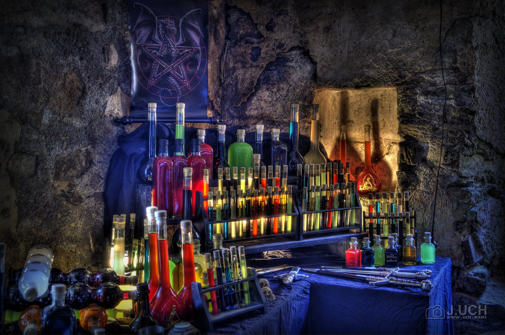 Alchemy Laboratory  This was an AlchemyScene at the mediev  Flickr