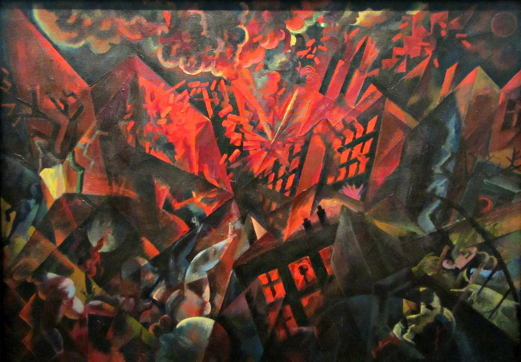 George Grosz 18931959 Explosion 1917 The Museum of Mo