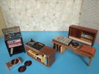 1960er 1970er Schallplattenspieler fr Lundby/Barton/Lisa ...