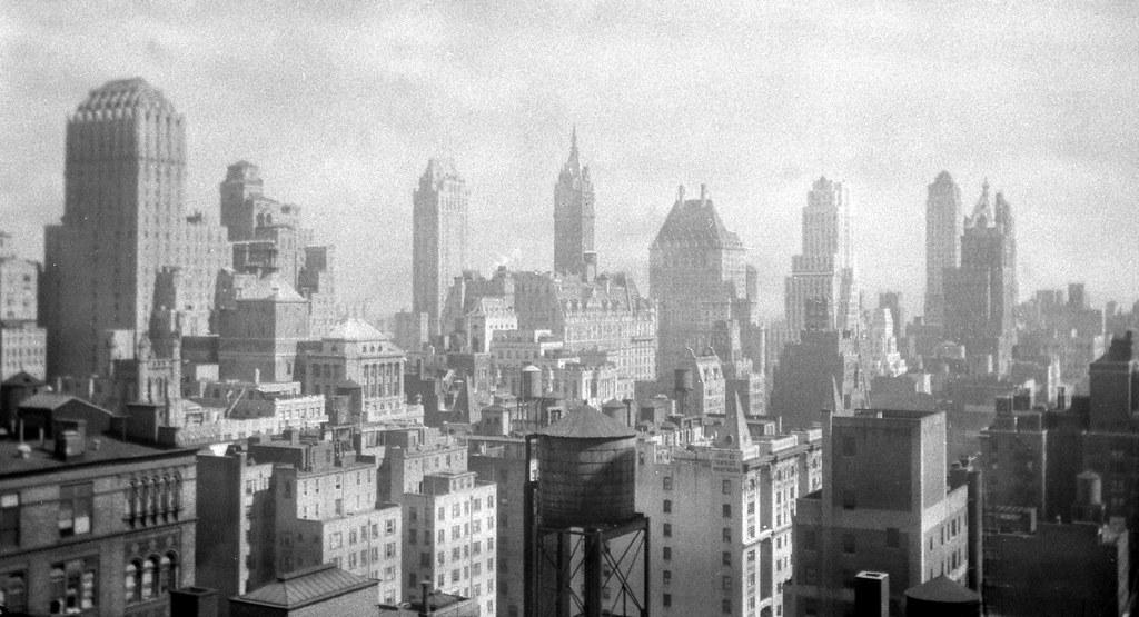 New York City Skyline Circa 1946 From My Mothers