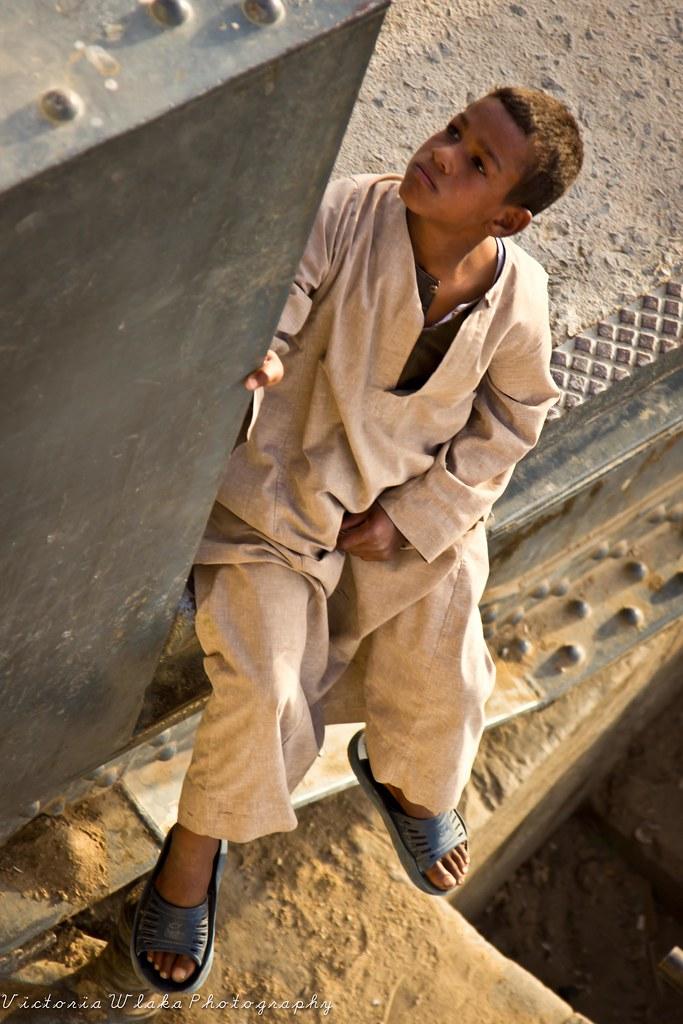 Little Egyptian Boy Esna Egypt Vicky W Flickr