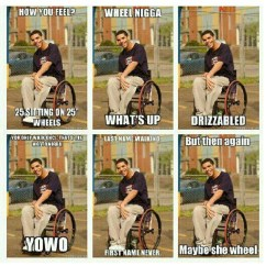 Wheelchair Drake Art Deco Chair Degrassi Yolo Joke Parody Funny H Flickr Hilarious Playonwords