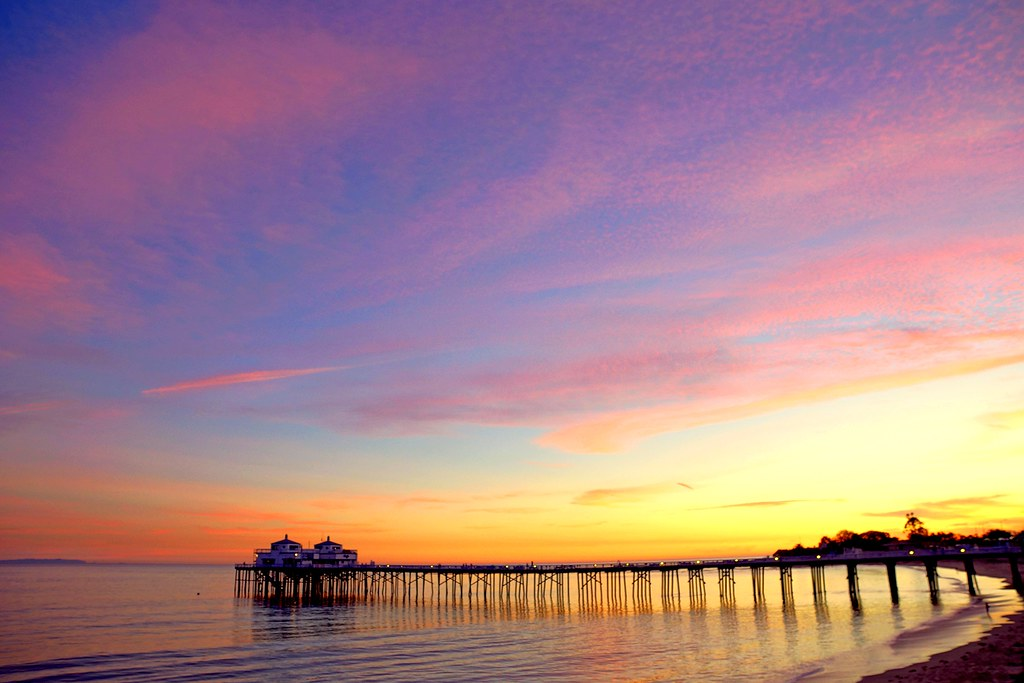 Beautiful 3d Wallpapers For Desktop Hdr Socal Malibu Landscapes The Malibu Pier At Sunset A