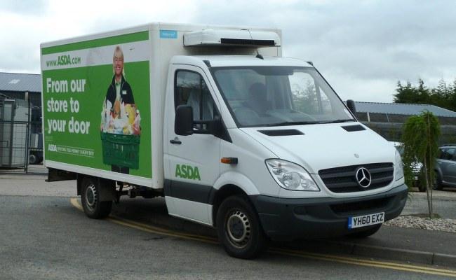Mb Asda Supermarket Home Delivery Yh60 Exz Perth