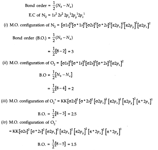 ncert solutions for class 11 chemistry chapter 4 chemical bonding