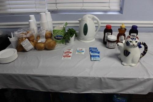 aromatherapy and tea